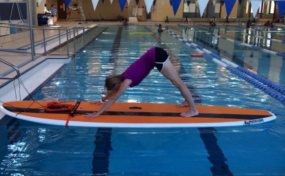 My last official SUP Yoga