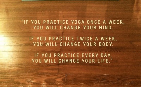 If you practice Yogait