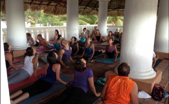 We re doing a Dharma Yoga