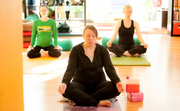 Prenatal yoga at Shining Light