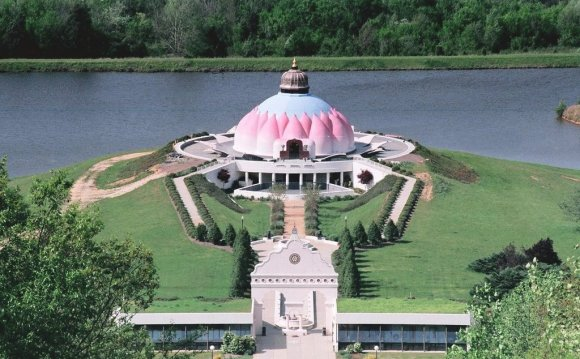 LOTUS temple at