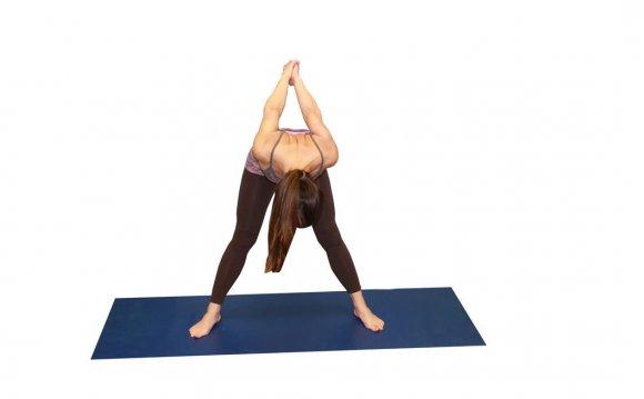 Wide- Legged Forward Bend