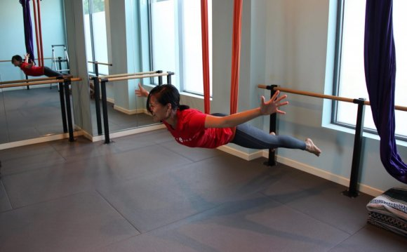 Gravity…with Aerial Yoga