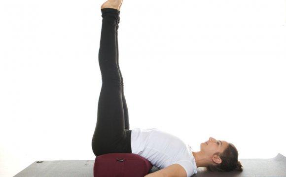 Wall yoga and Restorative