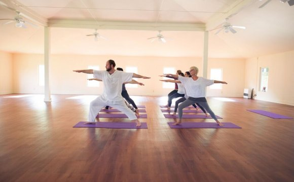 Yoga and spa facilities