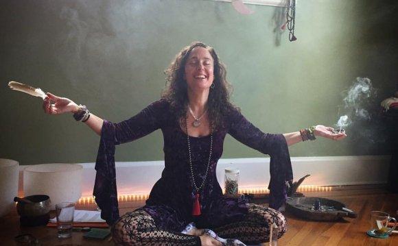 She leads Yoga Teacher