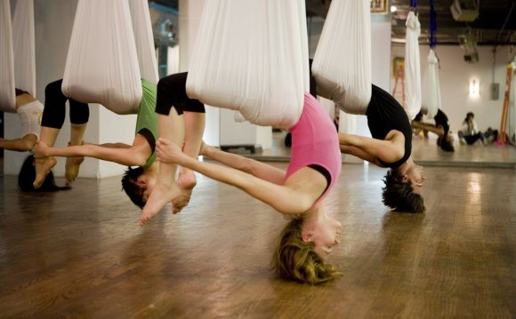 Win Two Free Aerial Yoga