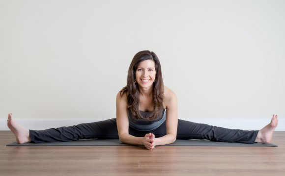 Yin yoga is a slower-paced