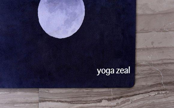 Black Lunar Yoga Mat
