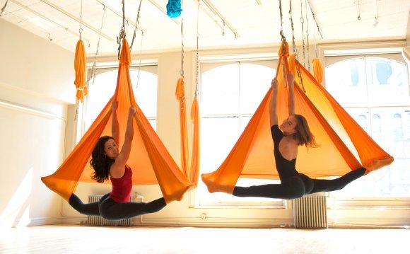 Aerial Yoga - Yoga Centers of Virginia