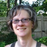Alicia Wright teaches yoga at Mindful Yoga Center in Newington, CT