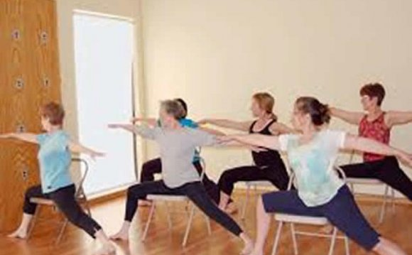 Chair Yoga poses for seniors Virginia