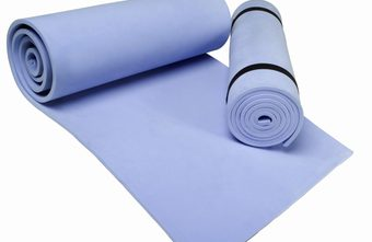 Pilates and yoga mats can differ in thickness.