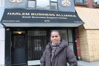 Regina Smith, executive director of the Harlem Business Alliance , says the group will use a 0,000 three-year grant to open a Small Business Support Center that will help businesses with the back office operations necessary to succeed such as marketing, bid preperation, payroll, budgeting and strategic planning.