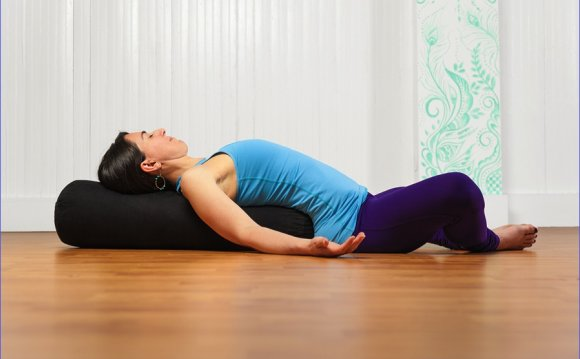 Restorative Yoga sequence Virginia