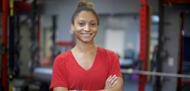 Salina Personal Trainer Atlas Fitness in DC