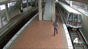 She managed to hop on a train and escape arrest at the time of the December incident.