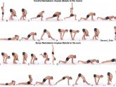 Moon Salutations Yoga sequence Virginia