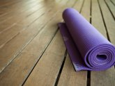 Purple Yoga mat Virginia